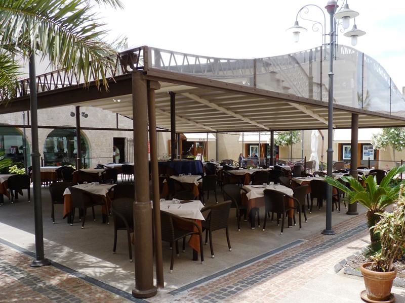 Pizzeria veranda